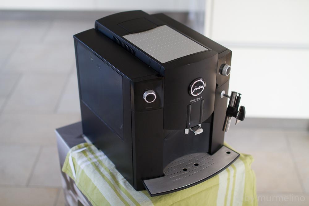 jura impressa c limited edition kaffeevollautomat ebay. Black Bedroom Furniture Sets. Home Design Ideas